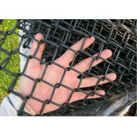 Wholesale Hot Dipped Link Chain Fence , Dark Green Residential Chain Link Fencing from china suppliers