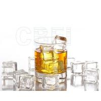 Wholesale R22 Refrigerant Crystal Cube Ice Making Machine 1 ton / 3 ton from china suppliers