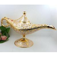 Wholesale Shinny Gifts Brass Arabian Style Magic Lamp, Aladdin Lamp, Arabian Lamp from china suppliers