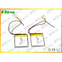 Wholesale 423450 Lithium Polymer Batteries 3.7V 750Mah Rechargeable Li-Ion Battery Pack from china suppliers