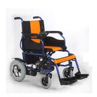 Wholesale Handicapped Foldable Power Wheelchair Comfortable 15km - 20km Driving Range from china suppliers