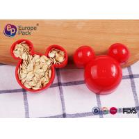 Wholesale Mickey Mouse Cookie Cutter Plastic Kitchenware 11G For Children 6.2Cm from china suppliers