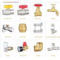 Wholesale Low Pressure Steel Pipe Fittings , Pneumatic Brass Ball Valve With 100% CNAS Laboratory Test from china suppliers