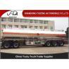 Buy cheap 5 Compartments Aluminum Tank Semi Trailer, Petroleum Tank Trailers 50000 Liters from wholesalers