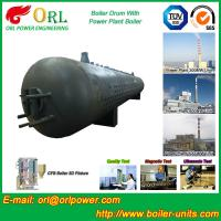Wholesale 80 Ton Fire Tube Boiler Mud Drum Longitudinal Environment Friendly from china suppliers
