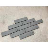Wholesale M36443 Decorative Grey Split Face Brick Customized Size No Color Fade For Wall from china suppliers