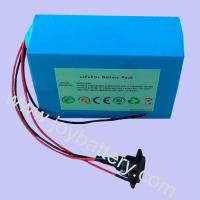 Wholesale 12.8V 12Ah LiFePO4 battery pack for solar lamp, solar street light, solar traffic light from china suppliers