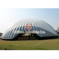 Wholesale Flame Retardant 20M Inflatable Air Tent / White Constantly Inflatable Dome Stadium from china suppliers