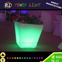 Wholesale Wedding Event LED Furniture Decoration Color Changing LED Pot from china suppliers