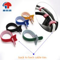 Wholesale wire tighting cable tie velcro hook & loop from china suppliers