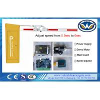 Wholesale RS485 Computer Control Automatic Parking Gate Servo Barrier Gate CE Approved from china suppliers