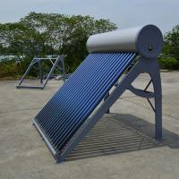 Wholesale Color steel thermosiphonic gravity solar energy water heater 200L CE approved from china suppliers