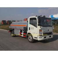 Wholesale Fuel Tank Truck  SINOTRUK HOWO 5m3 With Engine Chaochai And Cab 2080 from china suppliers