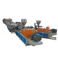 Wholesale WPC Foamed Sheet Plastic Extrusion line , Output 400Kg/h Two Conical Screw Extruders from china suppliers