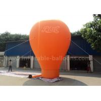 Wholesale Orange / Red / Blue Ground Custom Inflatable Balloons 6m 420D Oxford Cloth from china suppliers