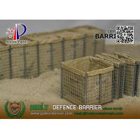 Buy cheap Security Gabion Barrier for Army China Supplier | ISO certificated company from wholesalers
