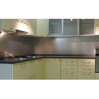 Quality Solid Backsplash Tempered Glass Panel Easily Clean The Stains for sale