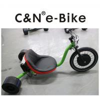 Wholesale Electric Motor Three Wheel Drift Trike Big Front Wheel For Kids / Adults from china suppliers
