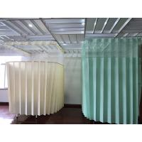 Wholesale Antimicrobial And Flame Retardant Disposable Cubicle Curtains Economical And Hygienic Alternative from china suppliers
