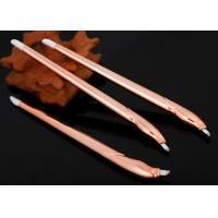 Buy cheap New Design Champagne Disposable Microblading Pen With Blister Packing from wholesalers