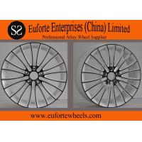 Wholesale Black Spokes Amg Mercedes Style Wheels / Aftermarket Aluminum Wheels from china suppliers