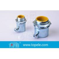 Wholesale Steel Die Cast Zinc Plated EMT Conduit And Fittings / Insulated Connector from china suppliers