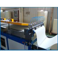 Quality Inverter Control Oil Filter Rotary Pleating Machine , 600mm Width for sale
