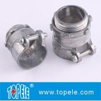 Wholesale Zinc Die-cast Flexible Conduit And Fittings Flexible Metal Straight Squeeze Connector from china suppliers