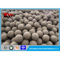 Wholesale Low break rate B3 ore grinding steel balls , Industrial ball mill grinding media from china suppliers