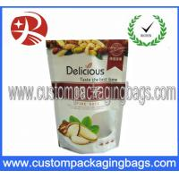 Wholesale Custom Printed Aluminum Foil Resealable Stand Up food Pouches With Zipper from china suppliers
