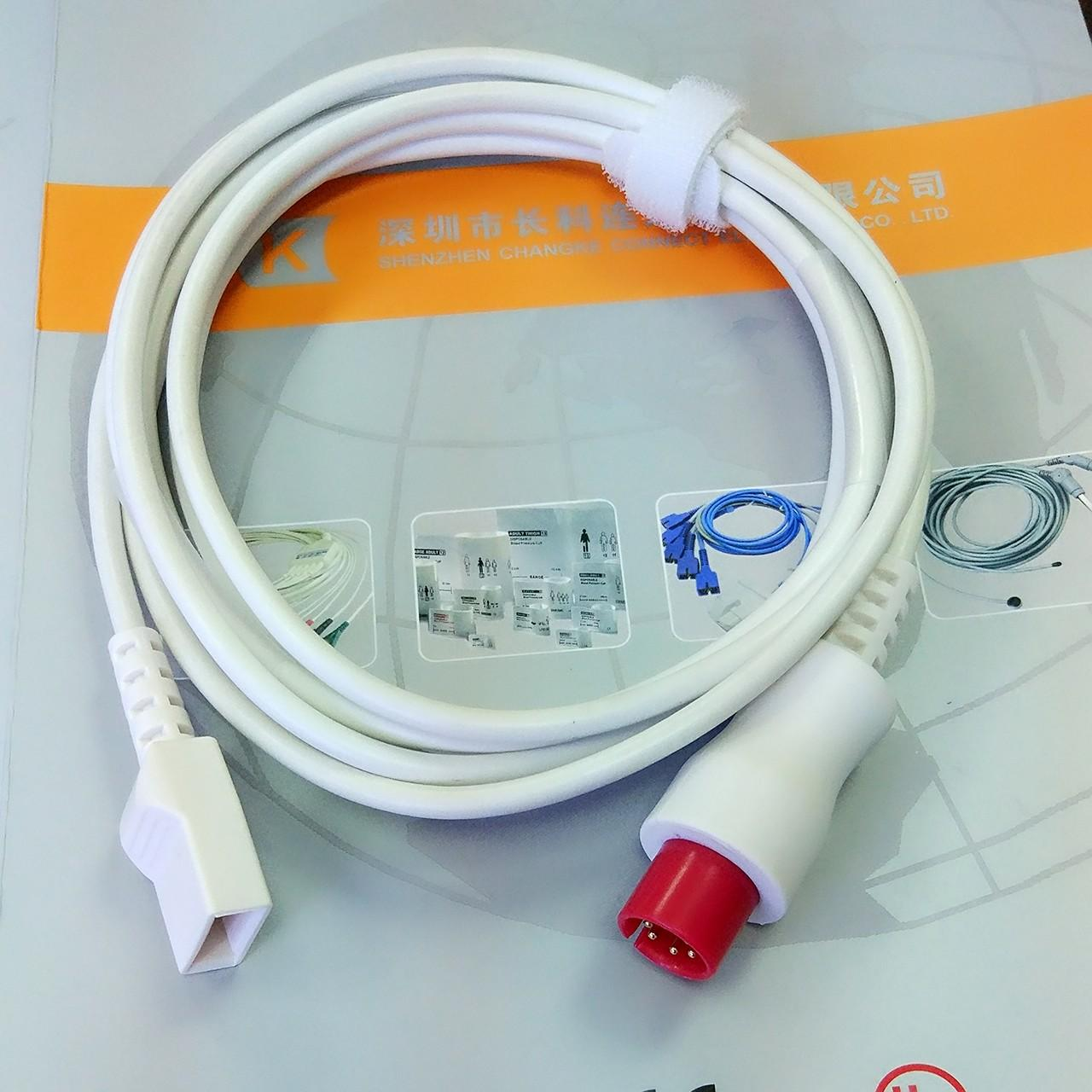 Wholesale Generic AAMI Utah IBP cable to transducer IBP adapter cable from china suppliers