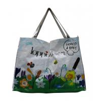 Wholesale LoppiPasen 120gsm Fabric Carrier Bags Water Proof , PP Woven Shopping Bags from china suppliers