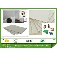 Wholesale Eco - Friendly Grade B Thick Strawboard Paper Two Sided Grey Uncoated For Printing from china suppliers
