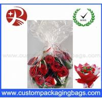 Wholesale Gravure Printing Custom Packaging Bags Recyclable for OPP Flowers Sleeve Packaging from china suppliers