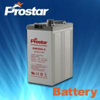 Wholesale Prostar 2 Volt Lead Acid Battery 2v 500ah from china suppliers