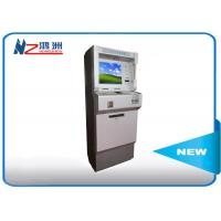 Wholesale Metal Keyboard Self Payment Kiosk , Touch Screen Computer Kiosk With Card Dispenser from china suppliers