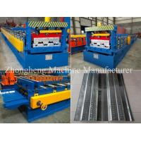 Wholesale High Strength 22KW Floor Deck Roll Forming Machine With Gearbox Drive from china suppliers