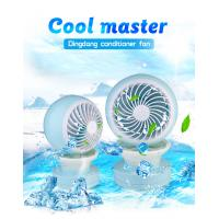 Wholesale Mulit-function Extremely Mini Cool Fan Strong Wind Spray Mist Dual Speed Night Light Humidifier Beauty  GK-CF02 from china suppliers
