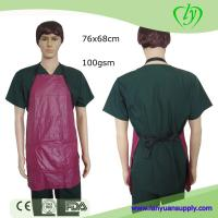 Wholesale PVC Kitchen Cooking Apron with 3 Pockets in Red or Black Color/Cooking Apron/Apron from china suppliers