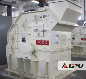 Wholesale PXJ1212 Granite Basalt Quartz Bauxite Fine Crusher , Crushing And Mining Equipment from china suppliers