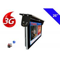 Wholesale Android 3G / 4G Network Bus LCD Display Screen 1920 X 1080 Ceiling Mounted Installation from china suppliers