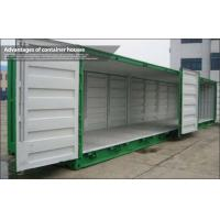 Wholesale Galvanized Steel Frame shipping crate homes / sea container homes For Shop and Storage from china suppliers