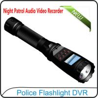 Wholesale 1080P Police Flashlight DVR On-site Enforcement Audio Recorder Night Patrol Video Camera from china suppliers