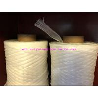 Wholesale White Cable Filler Yarn , PP Fibrillated Yarn Winding In Paper Tube Packing from china suppliers