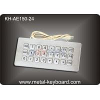 Wholesale Industrial Rugged Metal Kiosk Keyboard with USB and Top panel mounting from china suppliers