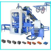 Wholesale QT4-15 Semi-automatic Concrete Block Making Machine, Concrete Block Brick Production Line from china suppliers