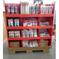 Quality Full size standard assemble Cardboard Pallet Display for Kitchwares for sale