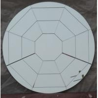 Wholesale Silver Glass Mirror Decorative Mirror Wall Mirror Round Engraved Mirror spider web mirrors from china suppliers