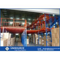 Wholesale Steel Floor Multi - Tier Rack Supported Mezzanine For Industrial Warehouse from china suppliers