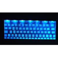 Wholesale Dustproof Red / Blue LED Laptop Backlight Keyboards 5.4mm , DC 36V from china suppliers